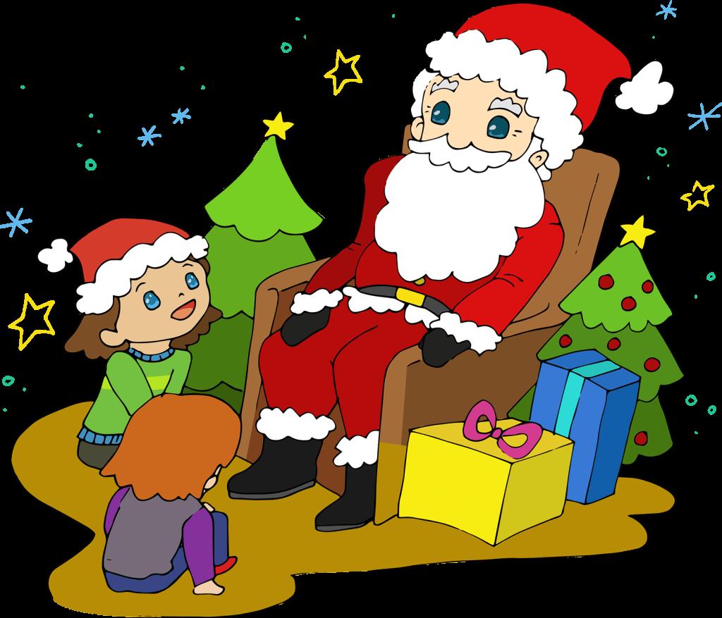 Father Christmas Illustration