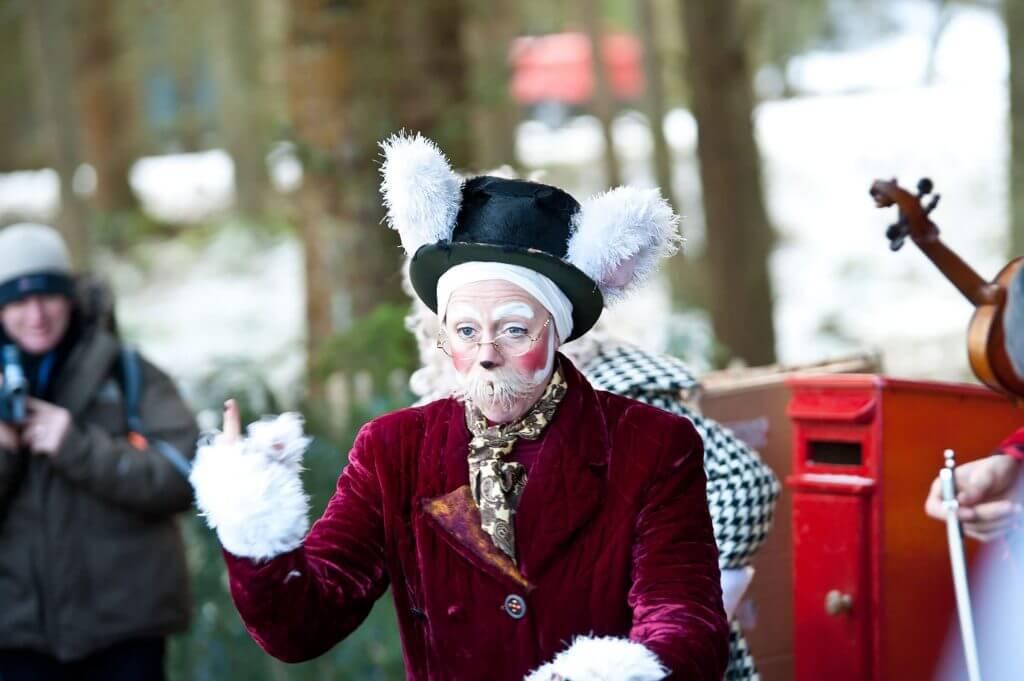Performers at Winter Wonderland